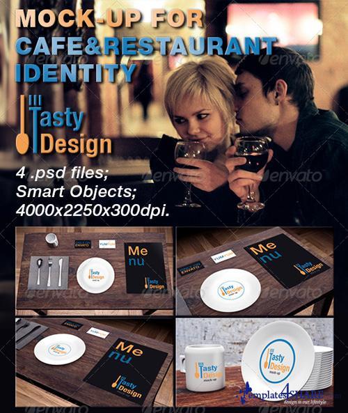 GraphicRiver Mock-up For Cafe&Restaurant Identity