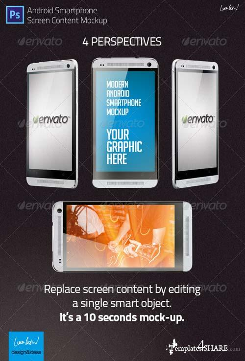 GraphicRiver Mock-up: Modern Android Smartphone