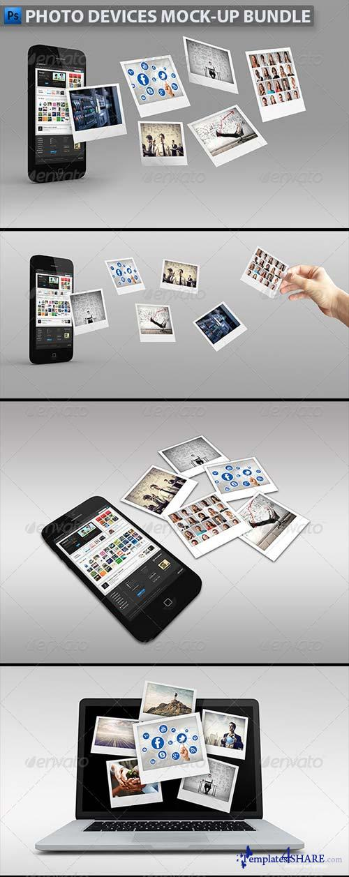 GraphicRiver Photo Devices Mock-up Bundle