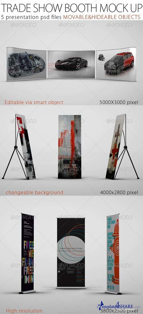 GraphicRiver Trade Show Booth Mock Up