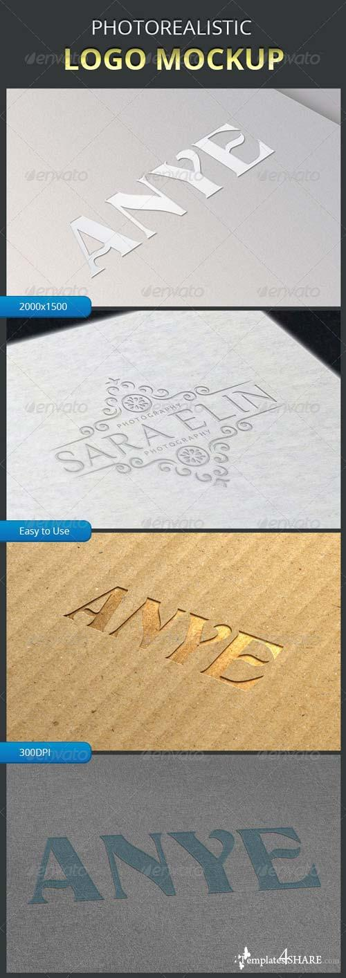 GraphicRiver Logo Mockup Pack 1