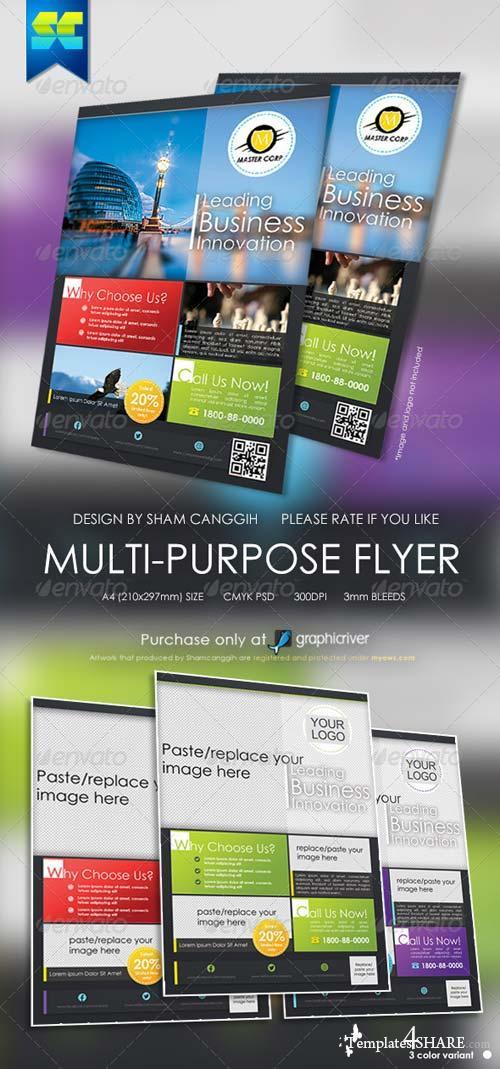 GraphicRiver Modern Multi Purpose Corporate Flyer