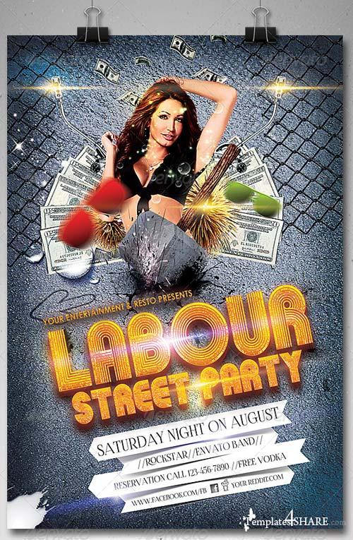 GraphicRiver Labour Day Party Flyer