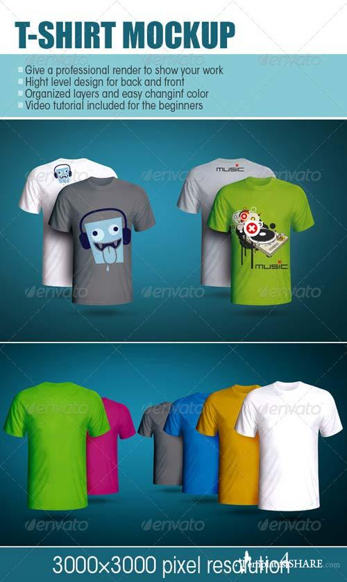 GraphicRiver T-shirt Mockup