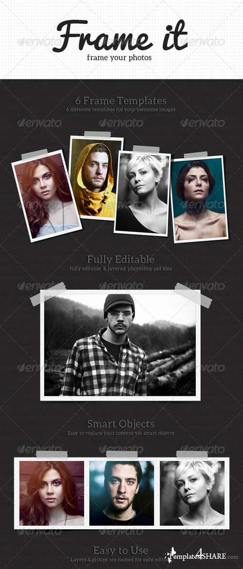 GraphicRiver Frame It Photo Templates