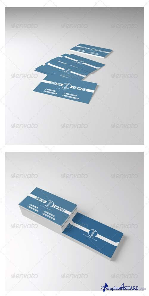 GraphicRiver Law Office Business Card
