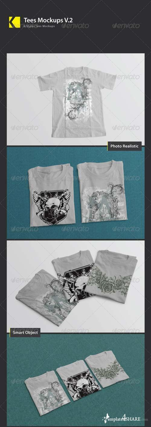 GraphicRiver Tees Mock_Ups V.2