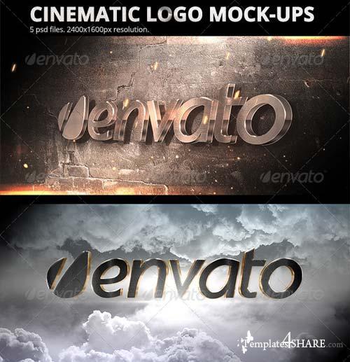 GraphicRiver Cinematic Logo Mock-ups