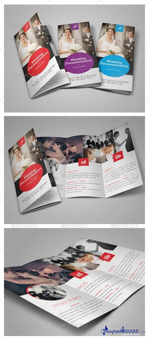 GraphicRiver Wedding Documentation Trifold