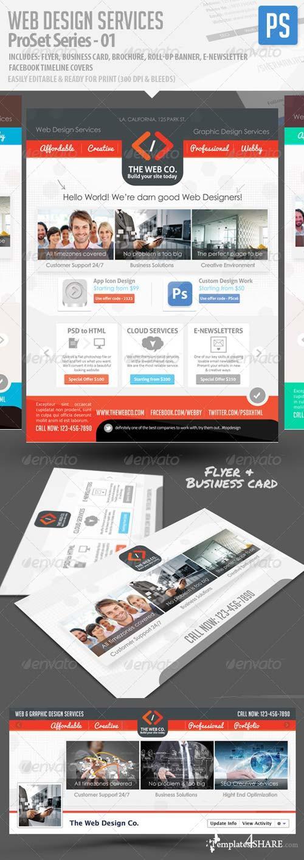 GraphicRiver Web Design Service Pro Set - All in One Bundle