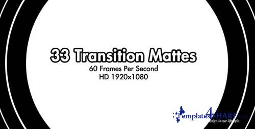 33 HD Transition Mattes 60fps - After Effects Motion Graphics (Videohive)