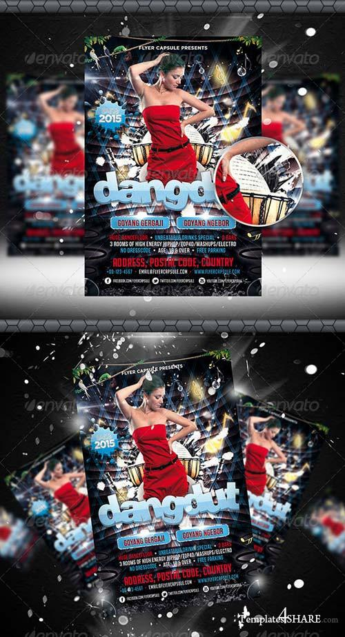GraphicRiver Dangdut Flyer Template