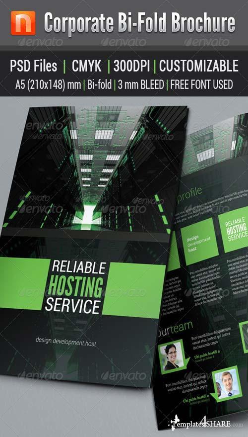 GraphicRiver Corporate Bi-fold Brochure V3
