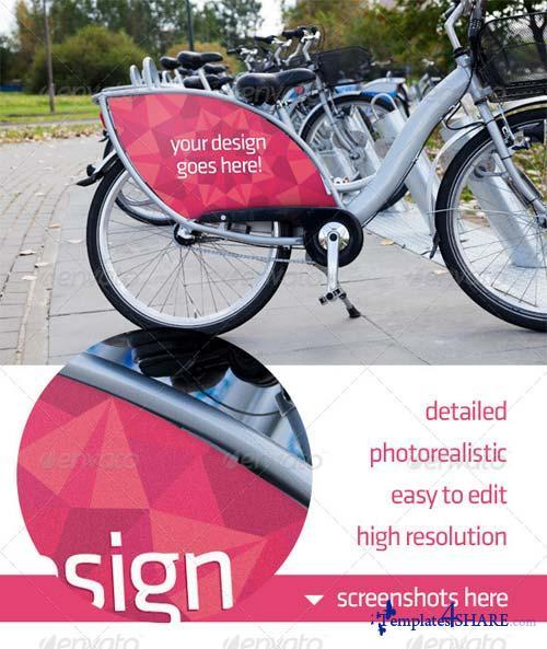 GraphicRiver Bike Ad Advert Mockup