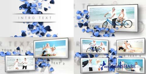 Hearts, Clean Wedding Slideshow - After Effects Project (Videohive)
