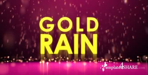 Gold rain - After Effects Project (Videohive)