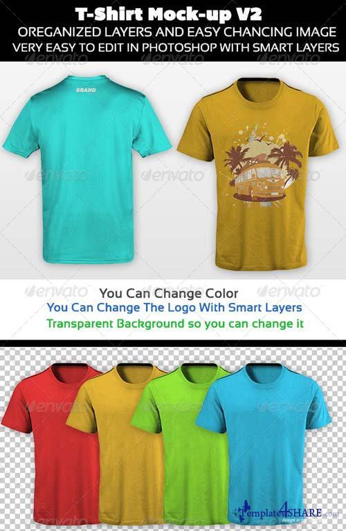 GraphicRiver T-Shirt Mock-up V2