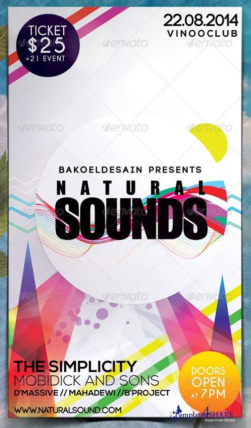 GraphicRiver Minimal Music Flyer Volume 2