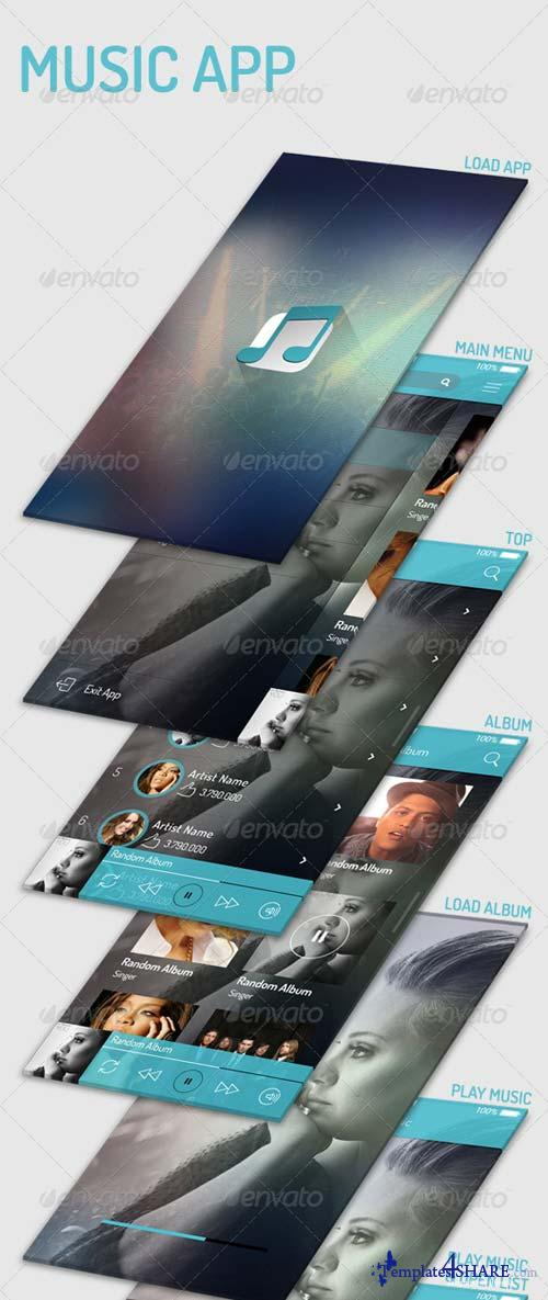 GraphicRiver Music App