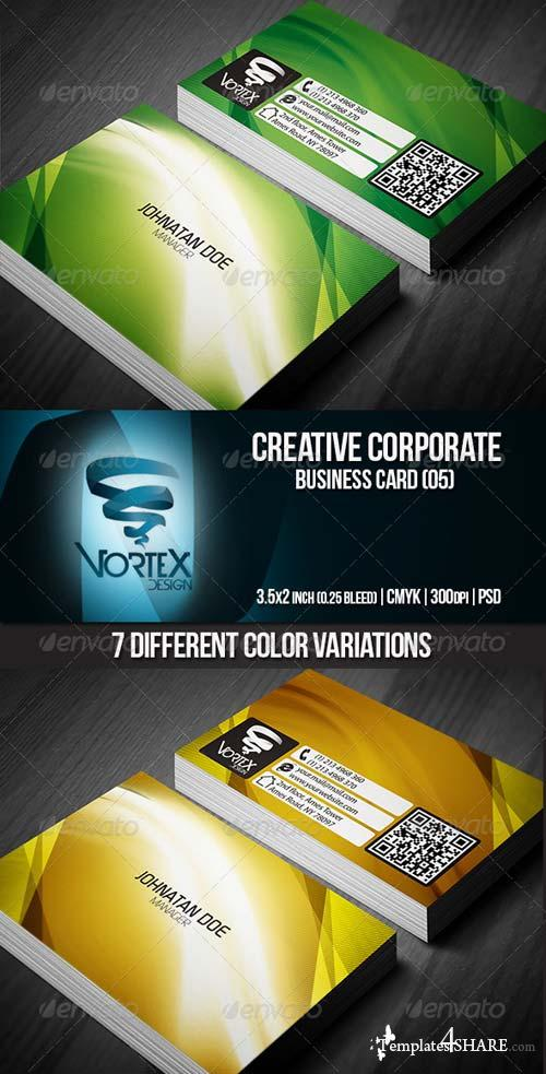 GraphicRiver Creative Corporate Business Card 05