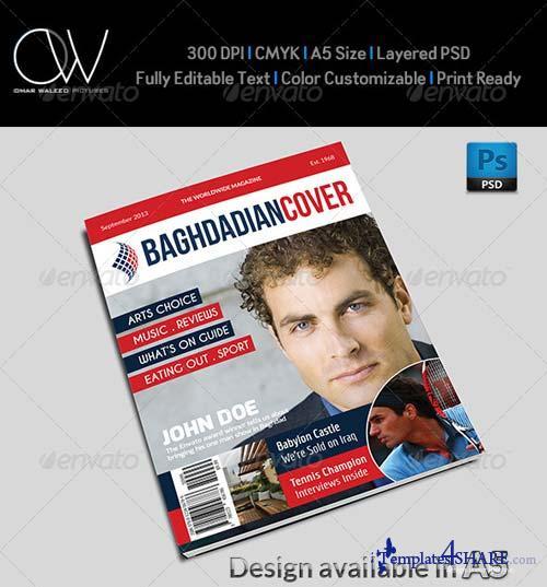 GraphicRiver News Magazine Cover Template