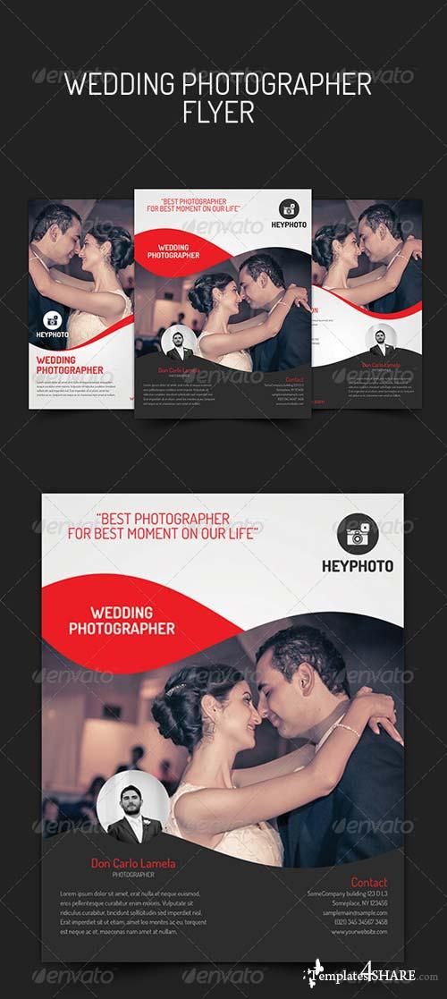 GraphicRiver Wedding Photographer Flyer
