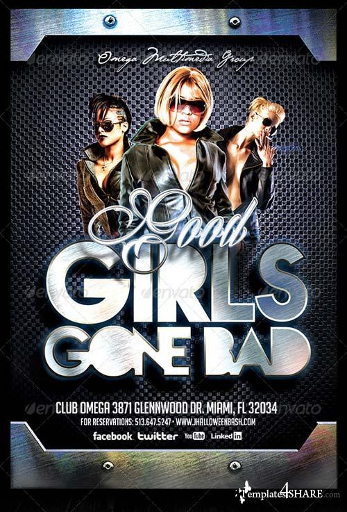 GraphicRiver Good Girls Gone Bad