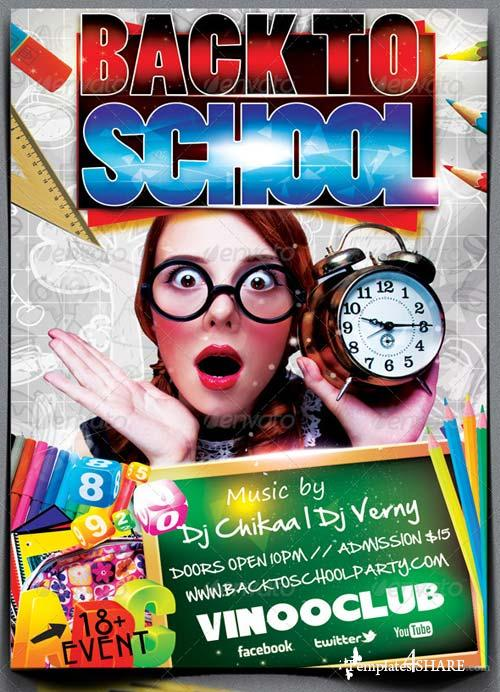 GraphicRiver Back To School Party Edition 1