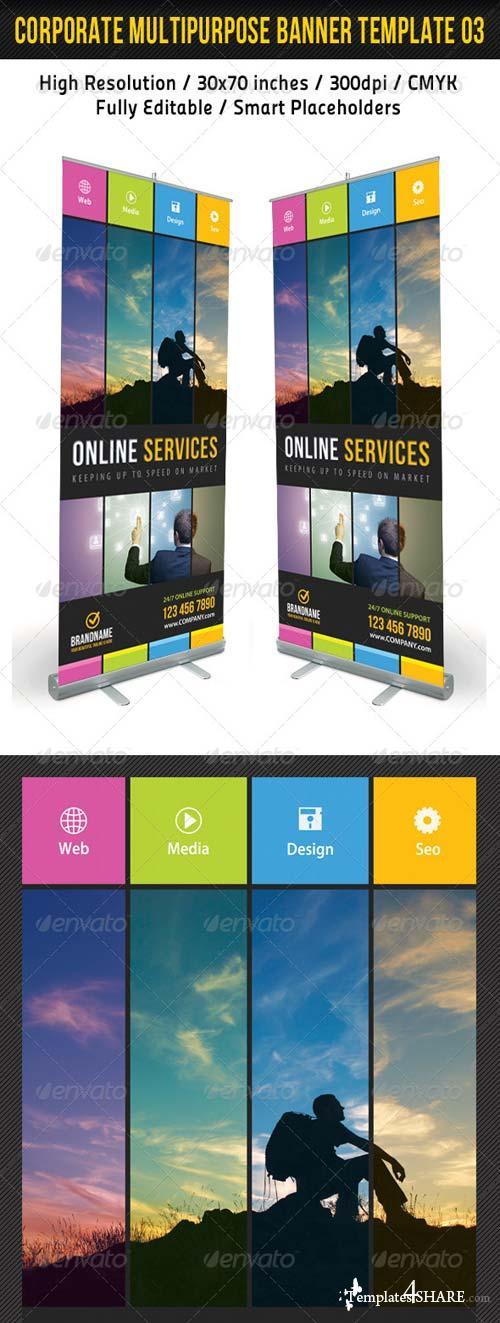 GraphicRiver Corporate Multipurpose Banner Template 03