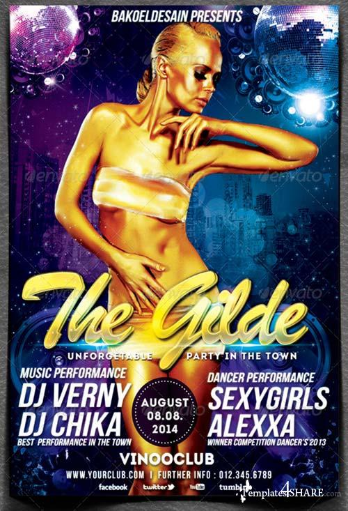 GraphicRiver The Gilde Party Flyer