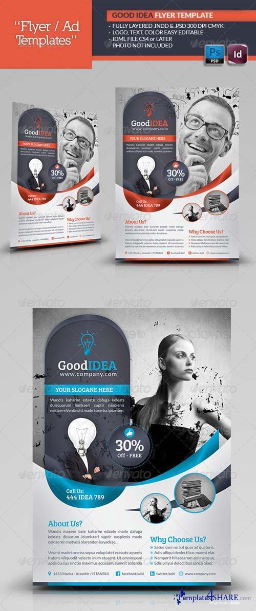 GraphicRiver Good Idea Flyer Template