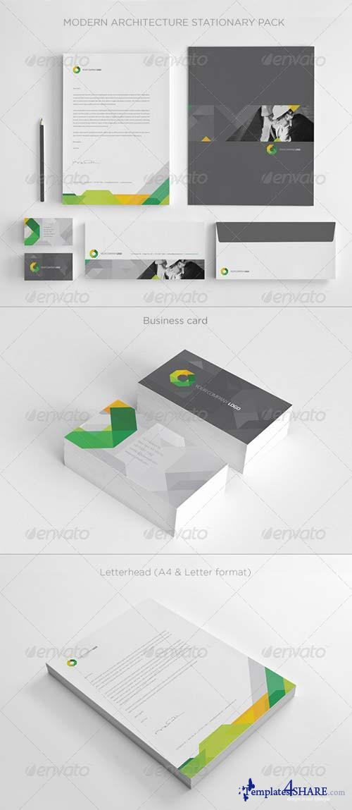 GraphicRiver Modern Architecture Stationary