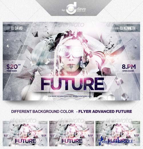 GraphicRiver Flyer Advanced Future