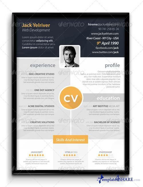 GraphicRiver Premium CV