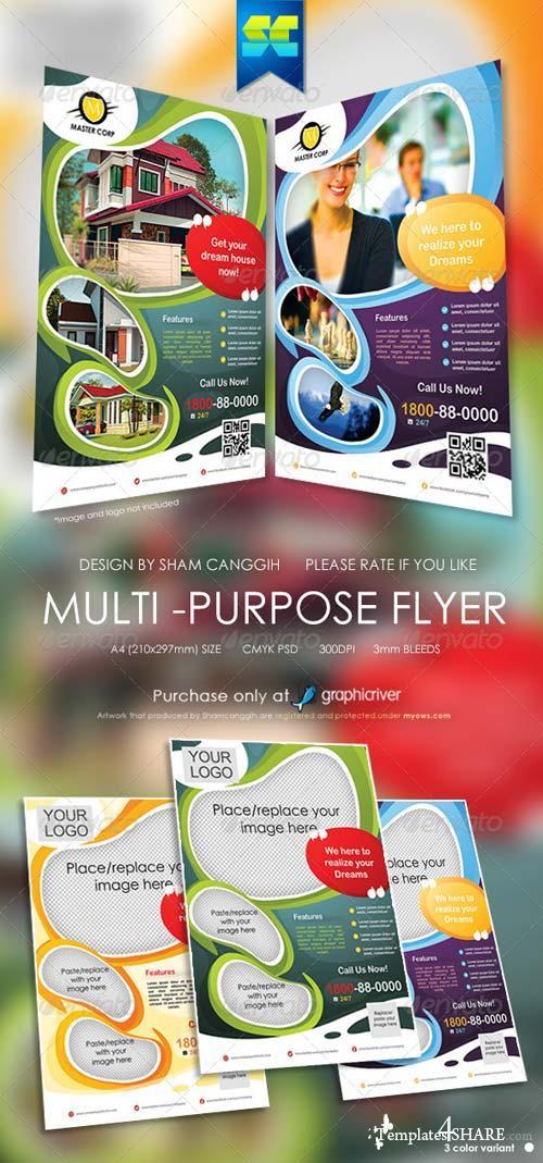 GraphicRiver Modern Multi-Purpose Corporate Flyer