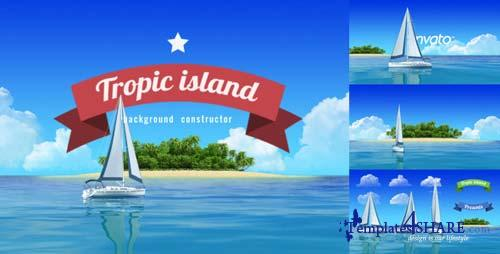 Yacht Sailing Island Travel Intro - After Effects Project (Videohive)