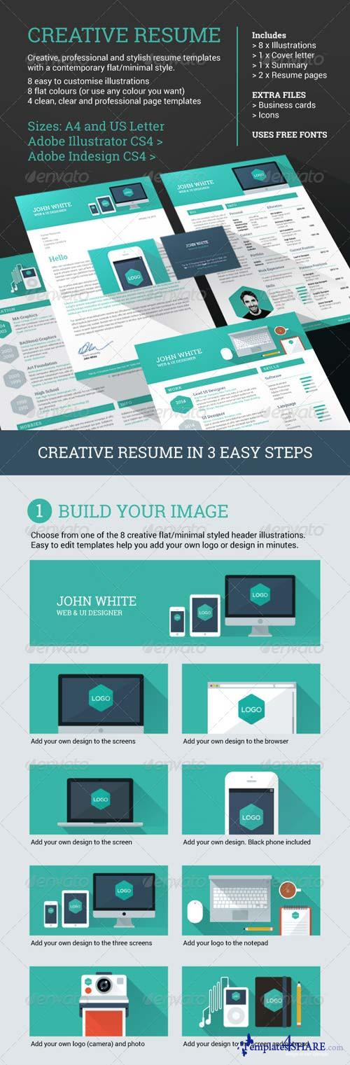 GraphicRiver Creative Resume