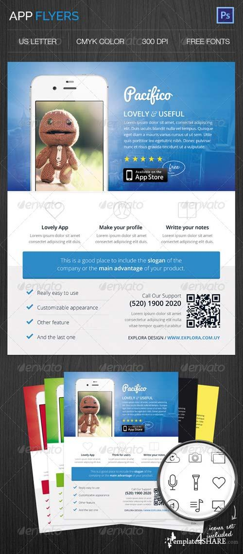 GraphicRiver App Flyers