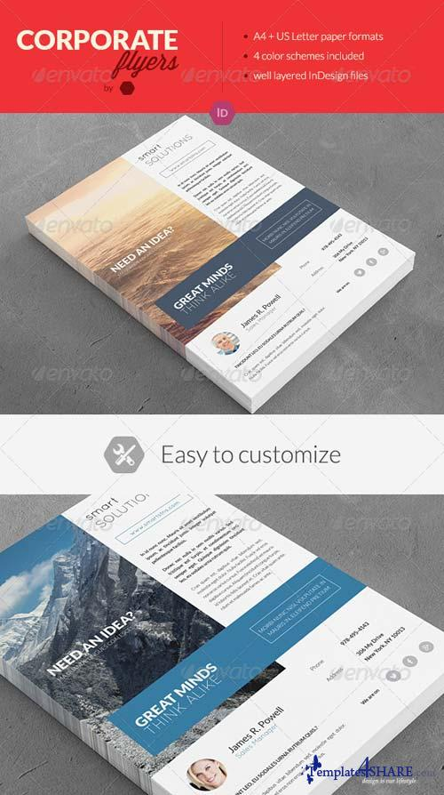 GraphicRiver Clean Corporate Multipurpose Flyers / Magazine Ads