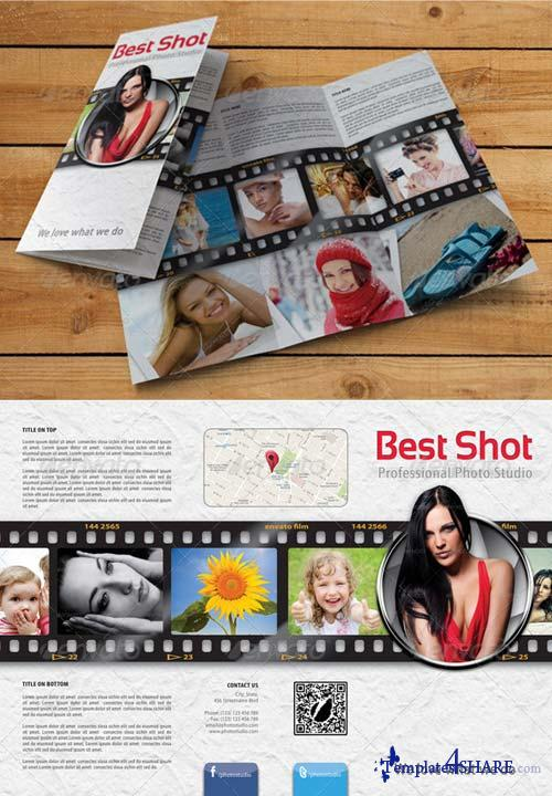 GraphicRiver Photo Studio 3-Fold Brochure 01