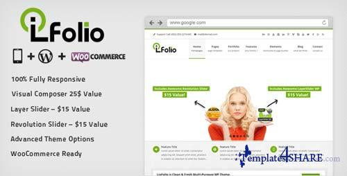 ThemeForest - LioFolio | Responsive Multi-Purpose Theme