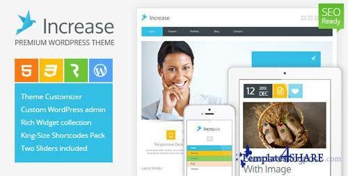 ThemeForest - Increase - Premium Business WordPress Theme