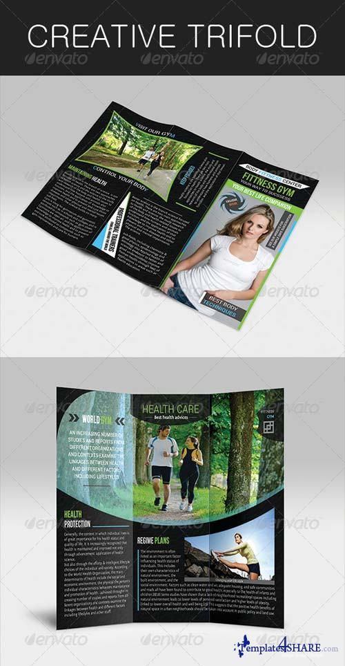 GraphicRiver Creative Trifold