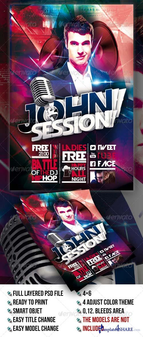 GraphicRiver Dj Sessions Concert