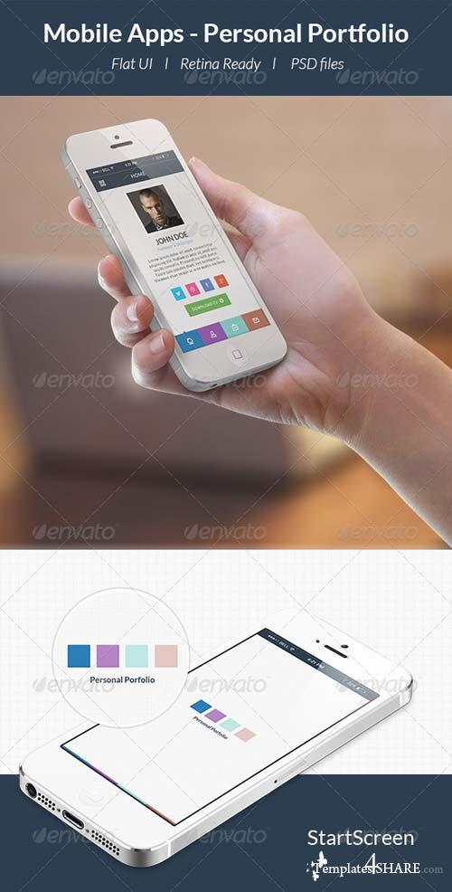 GraphicRiver Personal Portfolio App