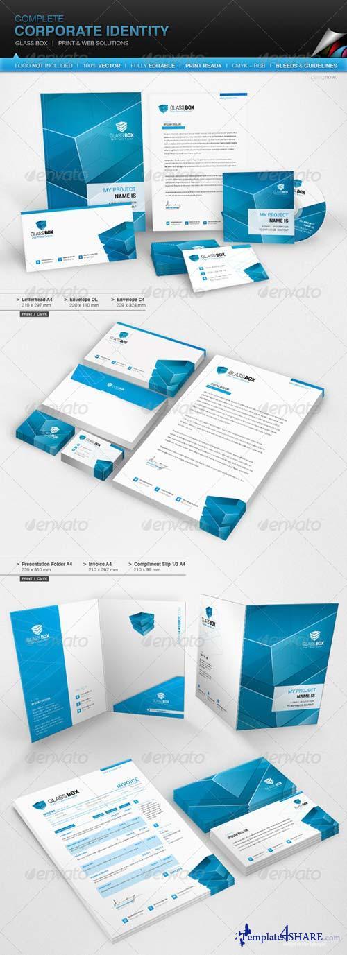 GraphicRiver Corporate Identity - Glass Box