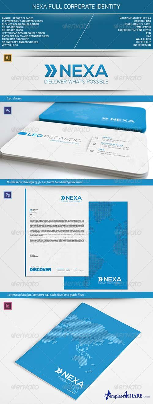 GraphicRiver Nexa Full Corporate Identity