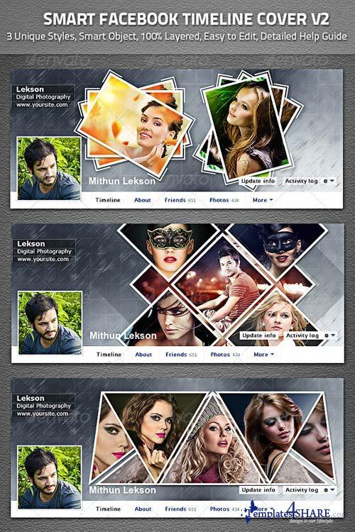 GraphicRiver Smart Facebook Timeline Cover V2