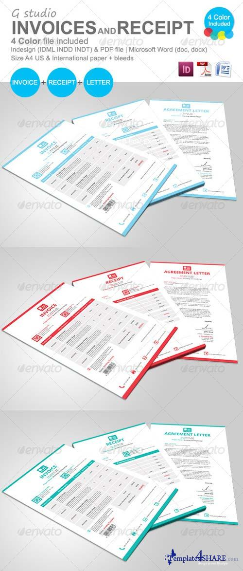 GraphicRiver Gstudio Invoices And Receipt Template