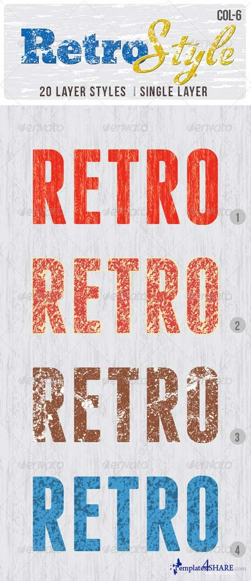 GraphicRiver Retro Layer Styles